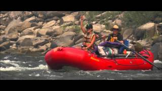 Main Salmon River Rafting During 2015 Wildfire Season: Cataract Oars