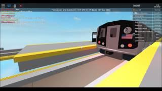 [ROBLOX] BMT U-Bahn: Rockaway Parkway Bound R143 L Zug - Broadway Junction