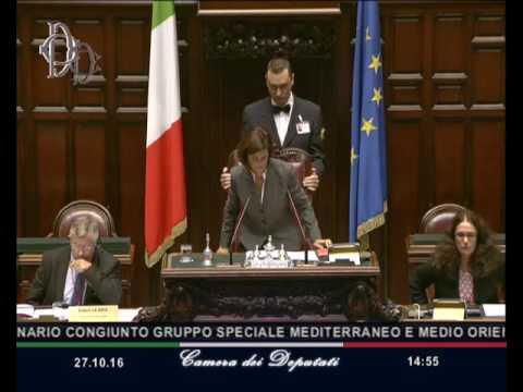 Roma - Le Séminaire du Groupe Spécial Méditerranée (27.10.16)
