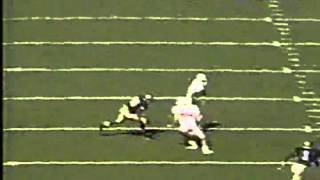 Cory Booker college football highlights from Stanford's upset win over Notre Dame in 1990