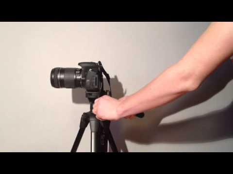 Utiliser un trépied pour camera - Astuce photos non floues