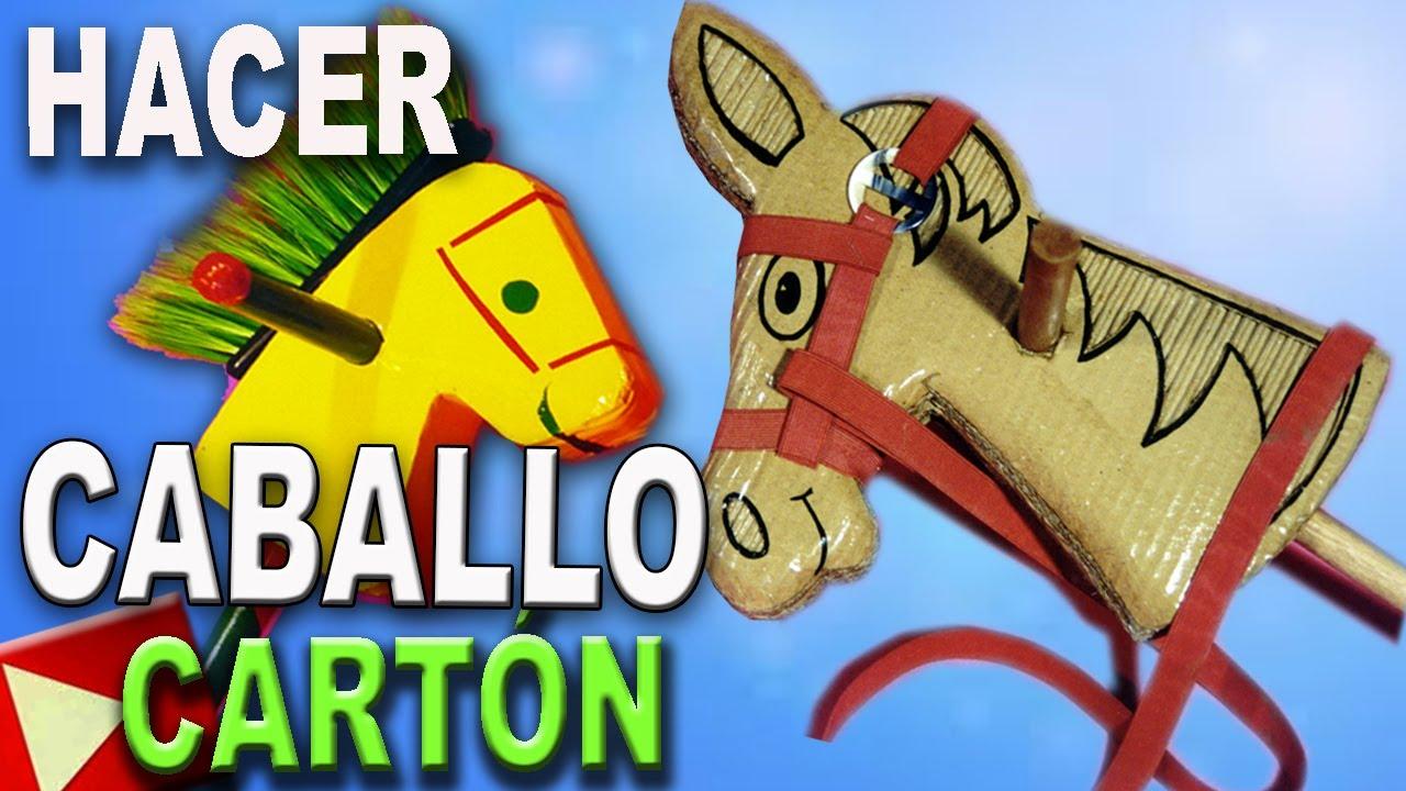 Carton Hacer Un Caballo De RecicladoCardboard Horse Como Con Cartón 4RjAL35q