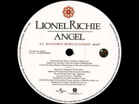 Lionel Richie - Angel (Boogieman Remix Extended) mp3