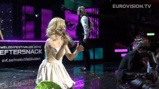Anna Bergendahl wins Melodifestivalen 2010