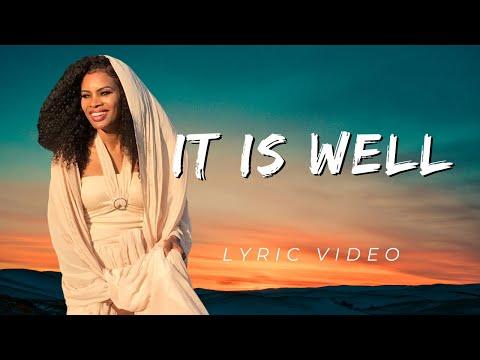 Nicole C. Mullen-It is well LYRIC Video