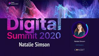Digital Summit 2020 Day 5.4 Broadcast of the speech by Natalie Simson (COO Coinsbit.io)