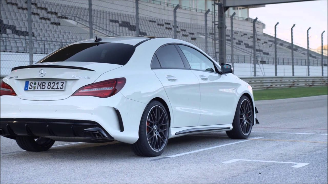 new 2016 mercedes amg cla 45 4matic coup youtube. Black Bedroom Furniture Sets. Home Design Ideas