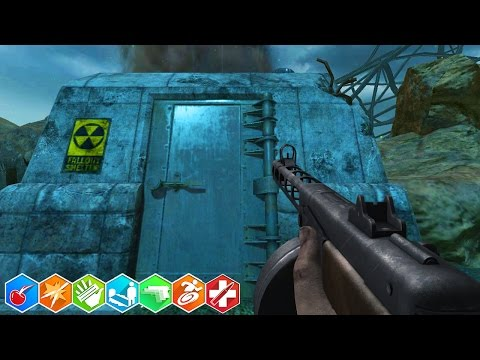 INSIDE THE NUKETOWN BUNKER! Modded Nuketown Zombies (Call of Duty Zombies)