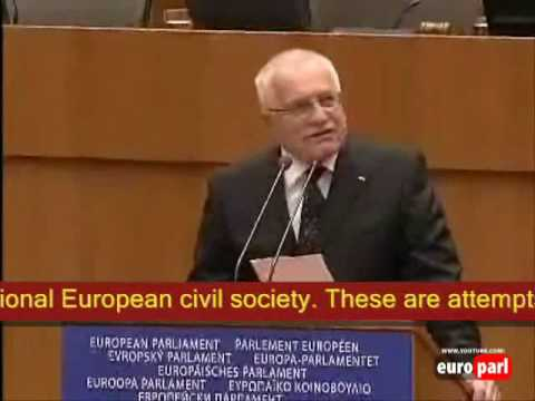 Václav Klaus stands up for Freedom