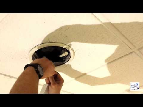 VIDEO INSTALACIÓN DISCO LED DOWNLIGHT 18W - YouTube