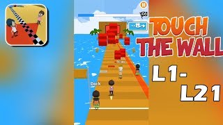 Touch The Wall Gameplay Walkthrough Level 1-21