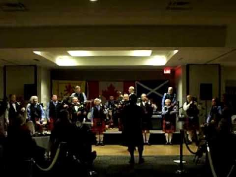 The Lion Sleeps Tonight : Cowichan Pipes and Drums