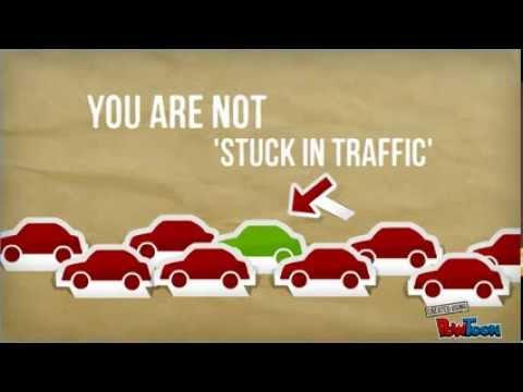 Stuck in Traffic? Get a Bike!