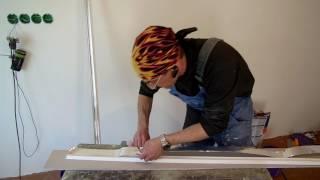 видео Потолочный плинтус для светодиодной подсветки