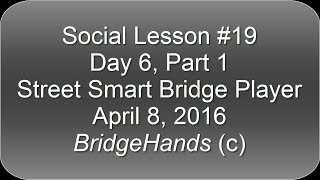 Street Smart Bridge, Partners, Awareness, Environment, Deadly Sins, Laws