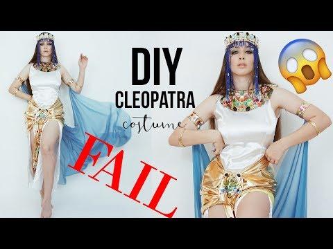 Diy Cleopatra Costume Big Fail Tijana Arsenijevic Youtube