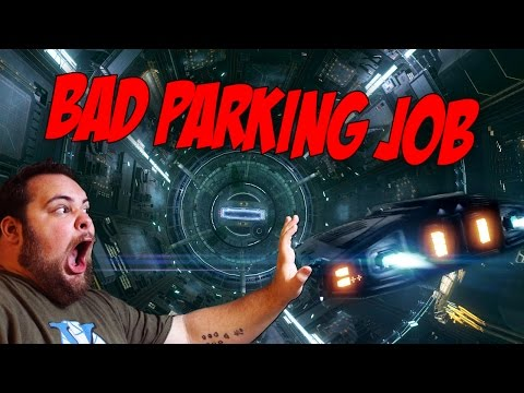 Bad Parking Job   IN SPACE!