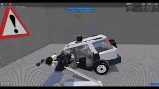 honda c-r v ex crash test in roblox Car crushers v.2.9