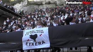 Rueda de prensa de etxerat en respuesta a la detención de los abogados vascos - PeriodismoDignoTV
