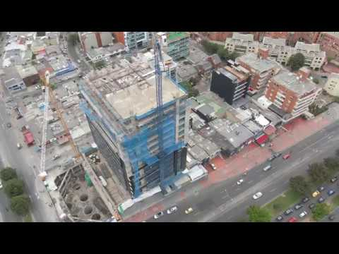 Volando en Drone,MAVIC 2 ZOOM 4K,  CENTUM BUSINESS BUILDING