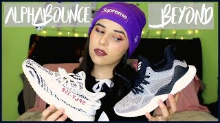 Adidas ALPHABOUNCE BEYOND 2 Review and ON FEET Totally WORTH IT ($100)