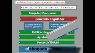 Video PROCESO DE DIVORCIO, SEPARACIÓN Y MEDIDAS SOBRE HIJOS EN COMÚN download MP3, 3GP, MP4, WEBM, AVI, FLV November 2017