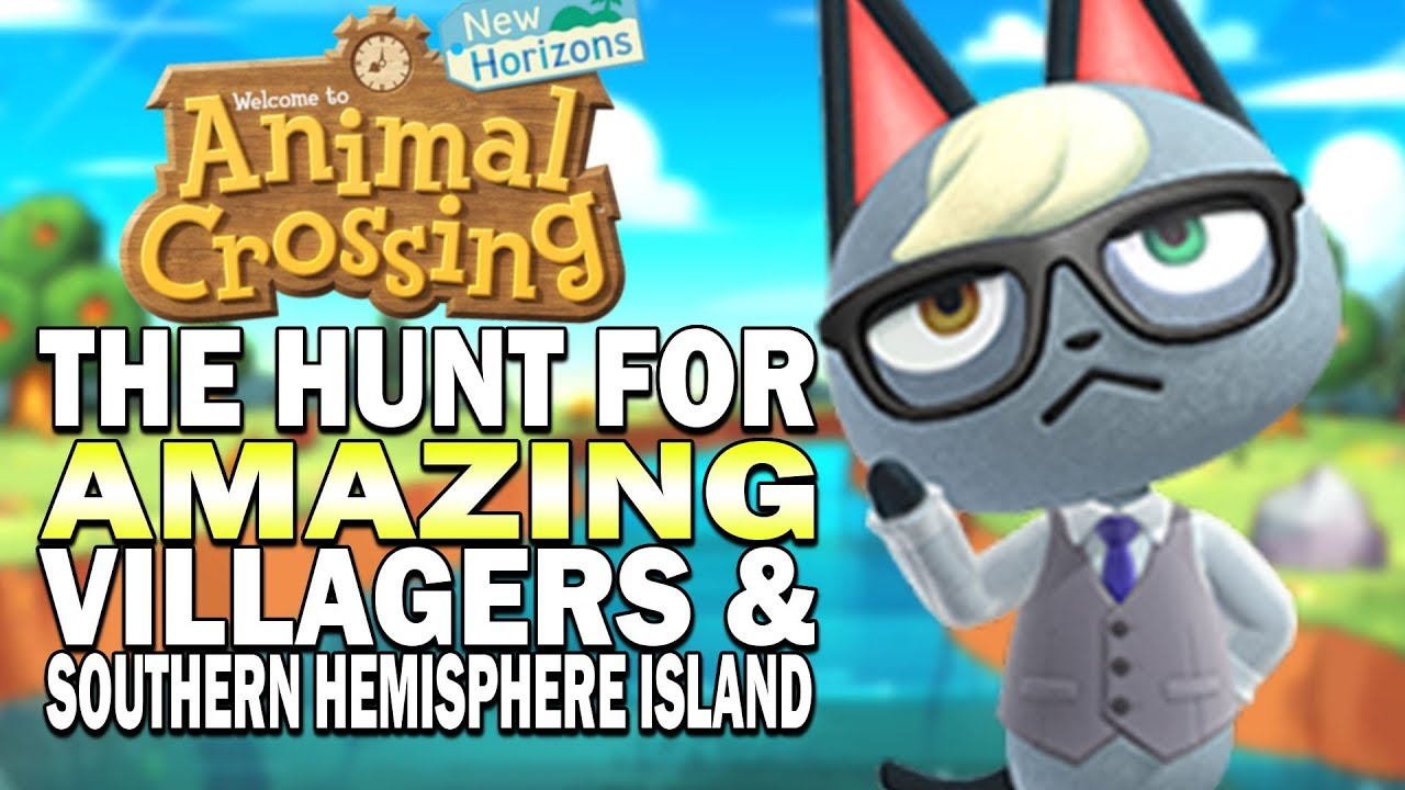 Searching For Amazing Villagers New 3 Star Island Animal