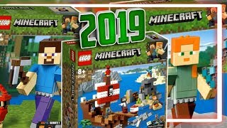 что в LEGO Minecraft 2019 наборы Майнкрафт Лего