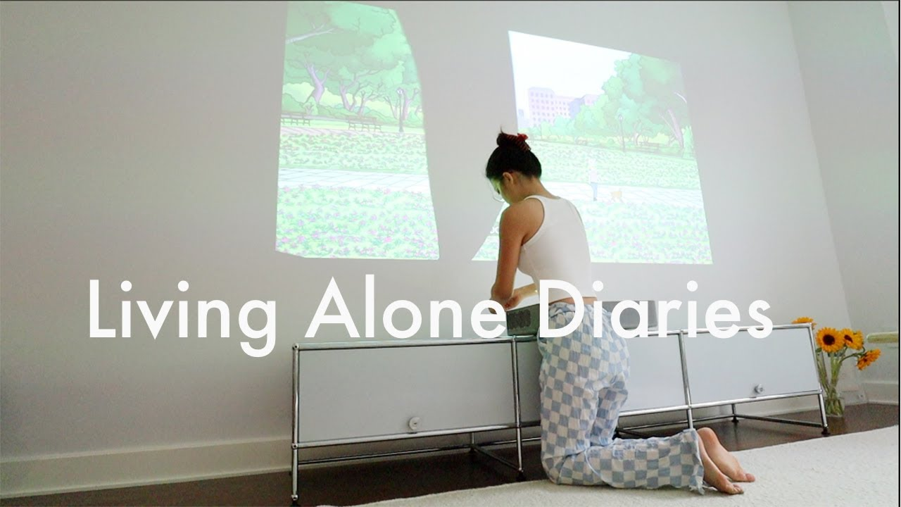 Living Alone Diaries   An ordinary and simple week at home, weight gain, cooking, grocery shopping!
