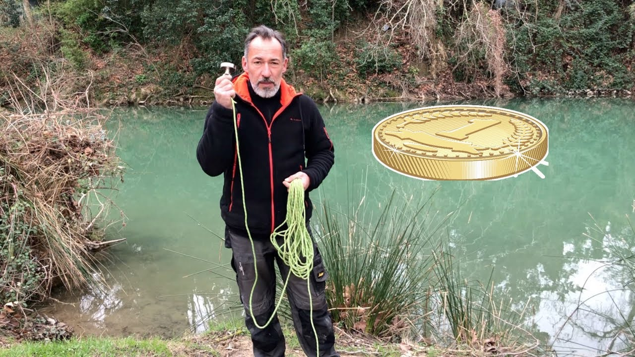 peche a l 39 aimant peut on trouver de l 39 argent magnet fishing youtube