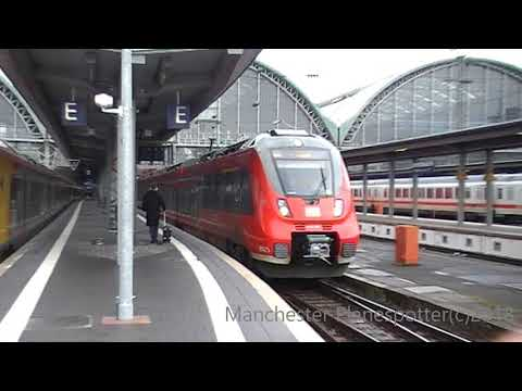 Trains At Frankfurt Am Main HBF On The 15/03/2018