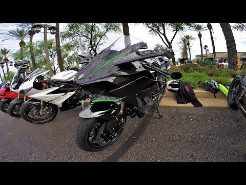 Street Legal Kawasaki Ninja H2R