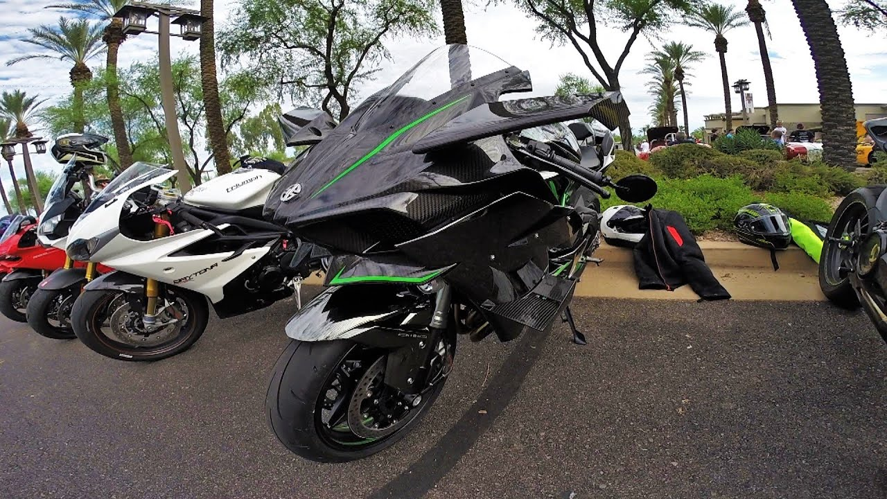 Street Legal Kawasaki Ninja H2R