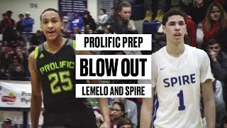 Prolific Prep Hands LaMelo Ball and SPIRE Their First Loss of the Season - Full Game Highlights