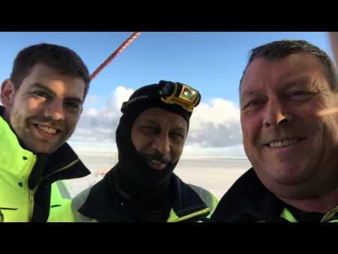 Offshore working in Arctic Siberia