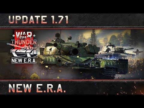 """War Thunder: Update 1.71 """"New E.R.A."""""""
