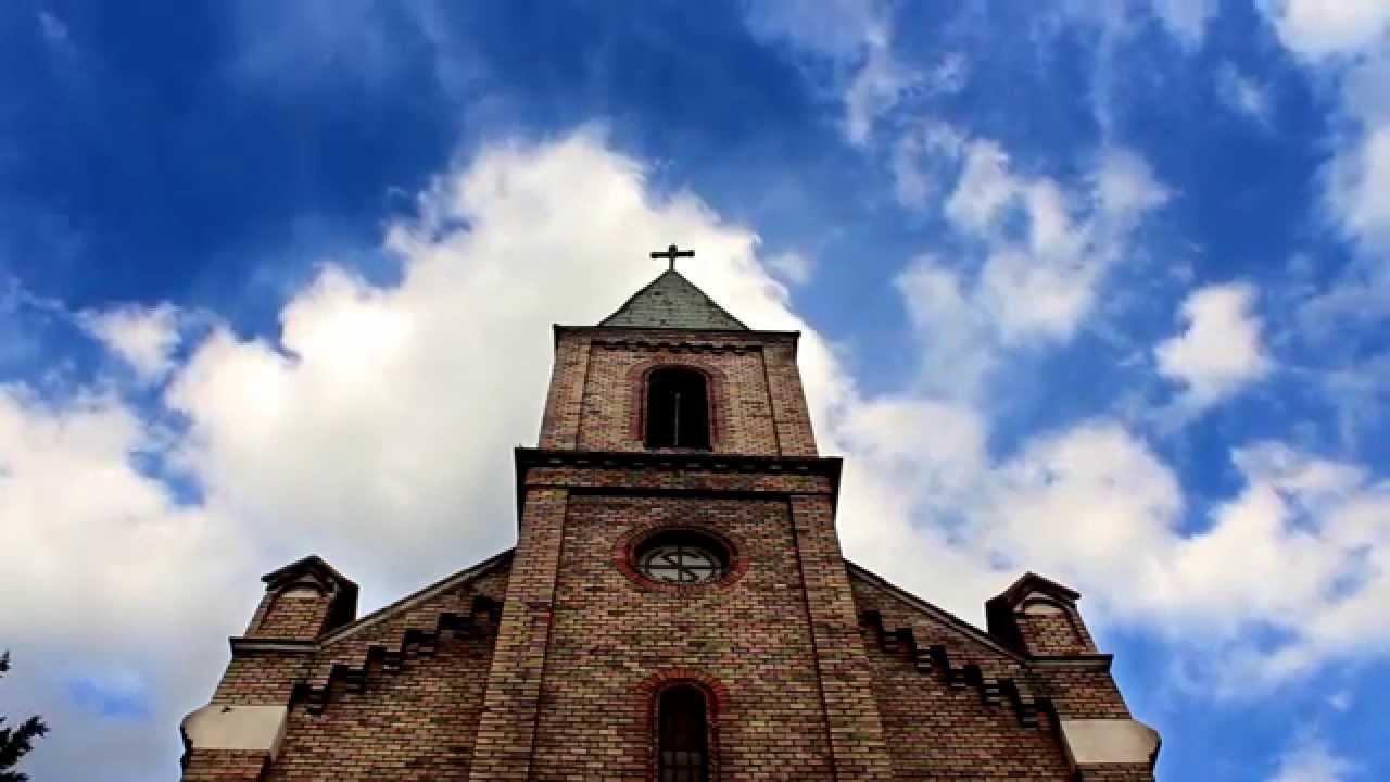 Free Stock Footage Church Temple Cloud Sky 1080p
