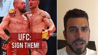 Real Talk: Cage Warriors 106 Bloodiest fight ever?