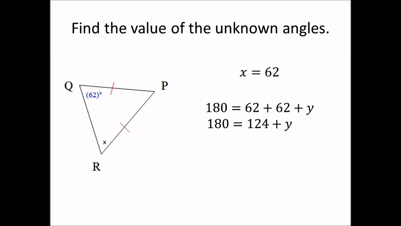 Right Angle Base : Base angles theorem youtube