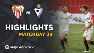 Highlights de Sevilla FC vs SD Eibar (1-0)