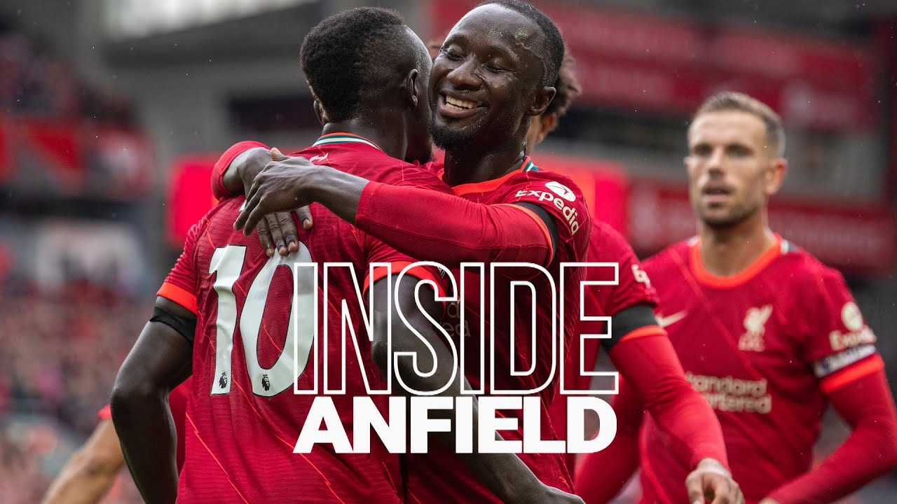 Download Inside Anfield: Liverpool 2-0 Burnley   Behind the scenes as a full house celebrates a win