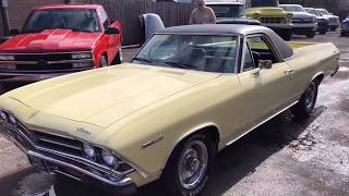 "1969 ElCamino ""SOLD""  $14,900 Test Drive Maple Motors"