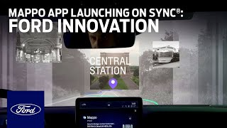 homepage tile video photo for Mappo App Launching on SYNC® | Innovation | Ford