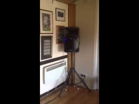ipod sound system hire Surrey speaker hire for iPod