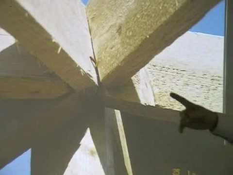(5) תכנון נכון של גגות עם שלד עץ