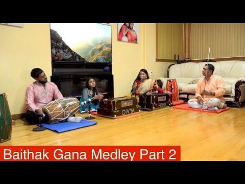 Baithak Gana Medley Part 2 | Priya & Divya Paray, Shailesh & Guru Babloe Shankar