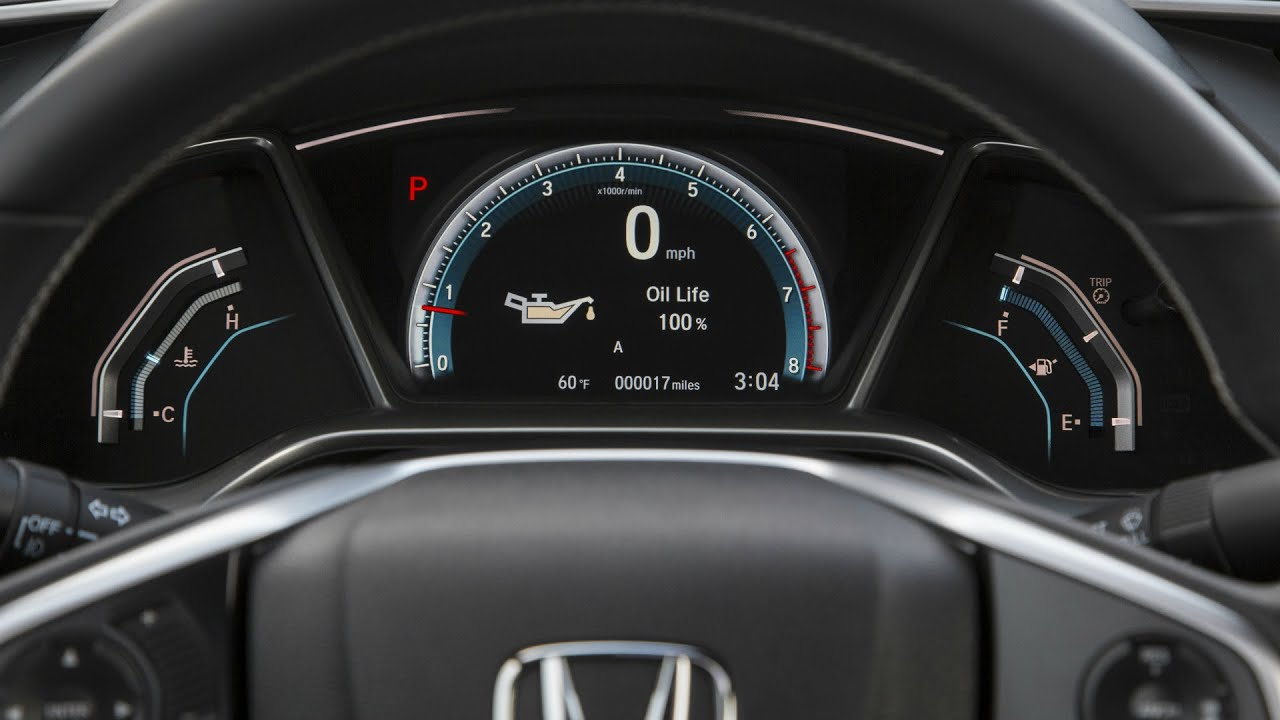 2016 Honda Civic Coupe Driver Information Interface and ...