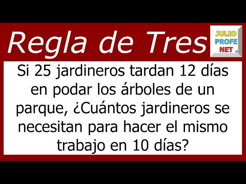 Regla de Tres Simple Inversa Problema 1-Rule of Three Simple Inverse Problem ...