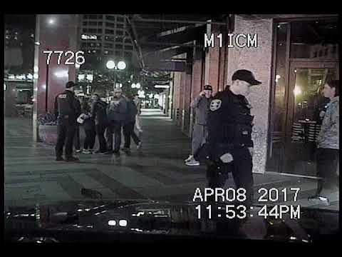 Seattle Police, collision