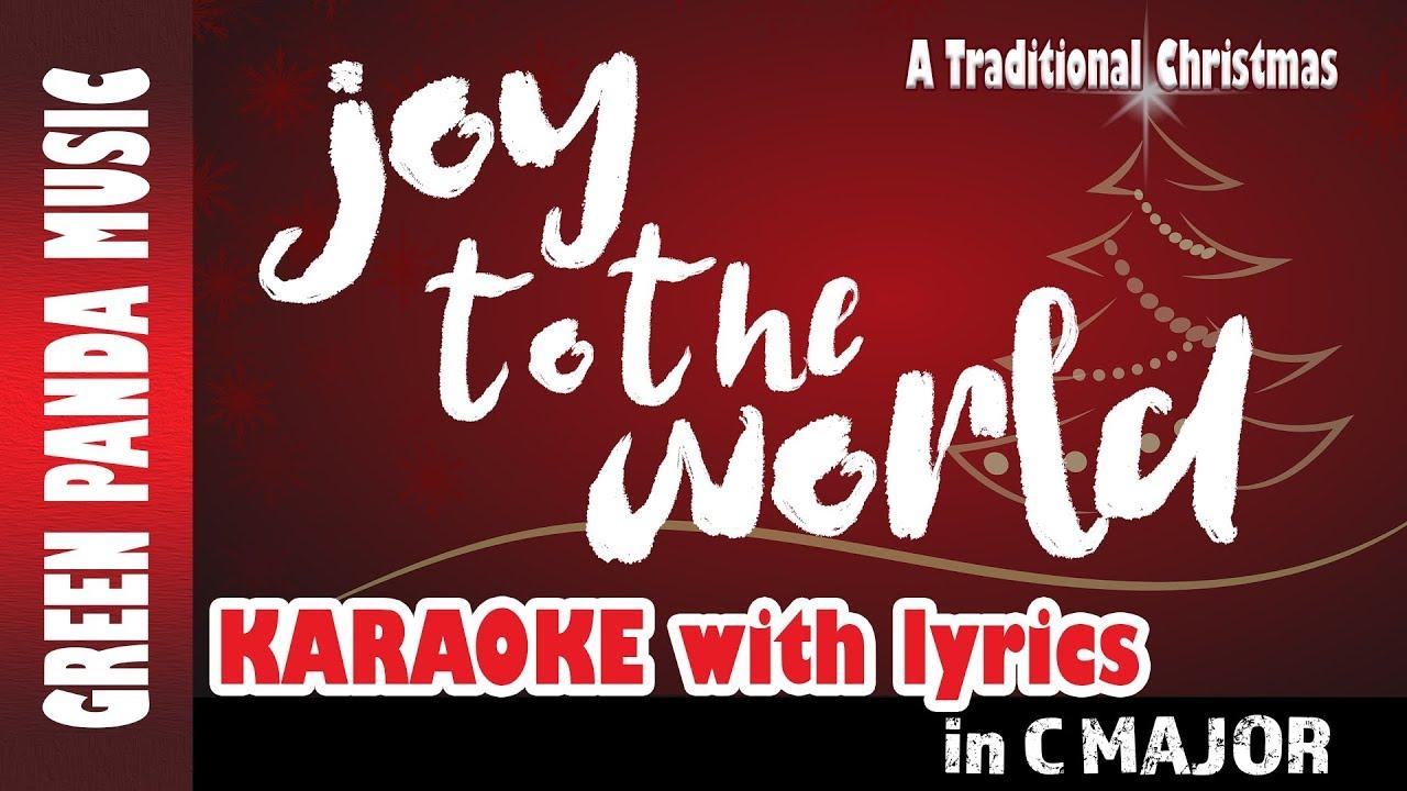 joy to the world lyrics traditional